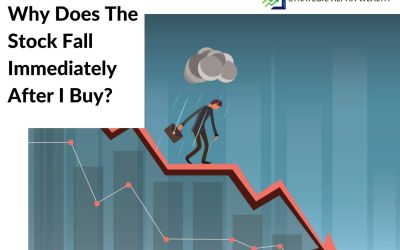 Why does the stock fall immediately after I buy?
