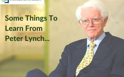 Some Things To Learn From Peter Lynch!