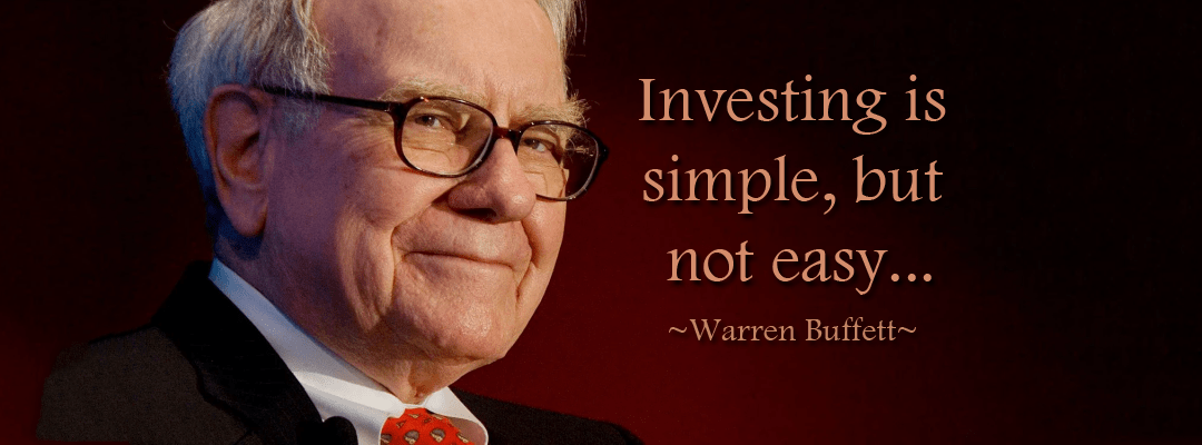 Investing Is Simple But Not Easy!