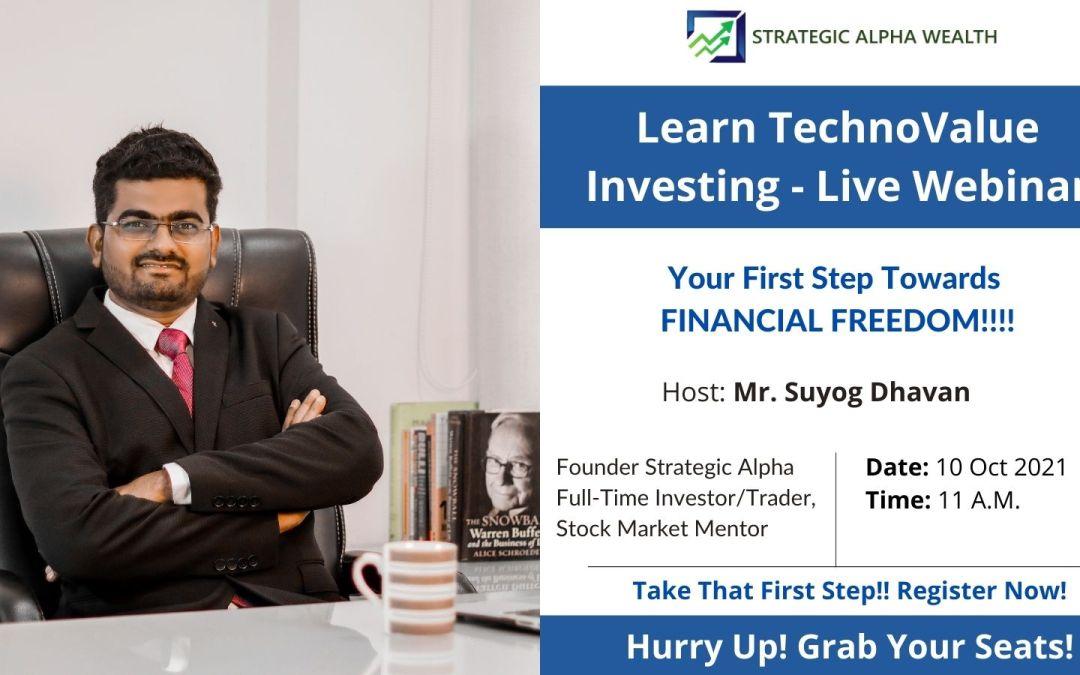 TechnoValue Investing Webinar!!