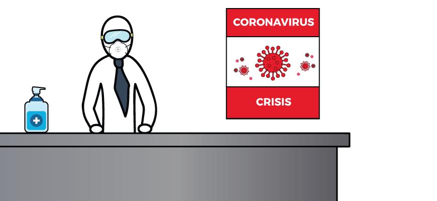 Corona-Crisis-Management