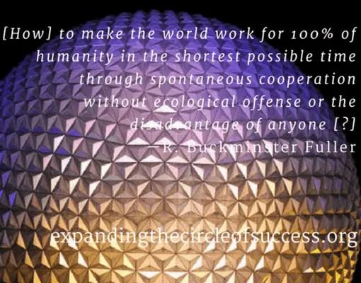 Buckminster Fuller Quote - Strategic Marketecture