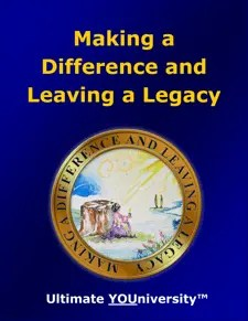 Making a Difference & Leaving a Legacy - Strategic Marketecture
