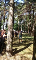 N-dimensional patapositional gameplay, Alytus Psychic Strike Biennale, Lithuania, Auguest 2015