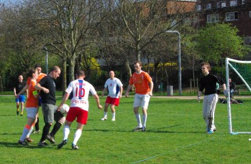 Luther Blissett Deptford League April 2015