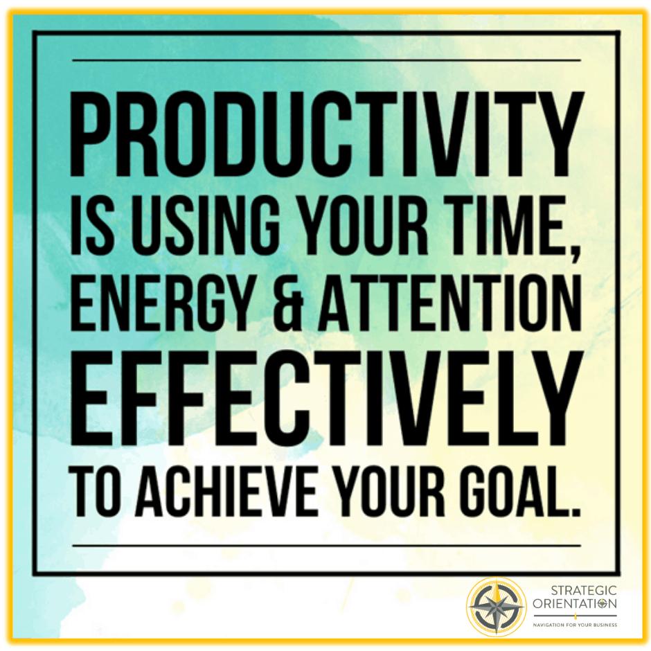 Three Keys to Managing Productivity Square