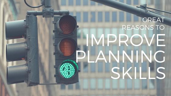 green traffic light, from metaphor in blog on improving planning skills