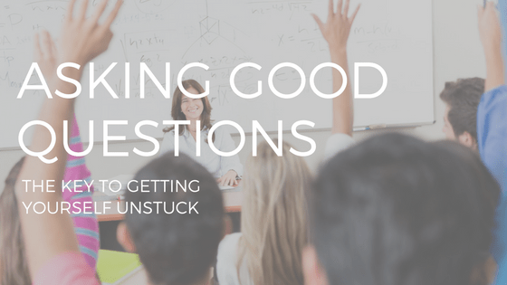 STUDENTS IN A CLASSROOM RAISING THEIR HANDS, ASKING GOOD QUESTIONS