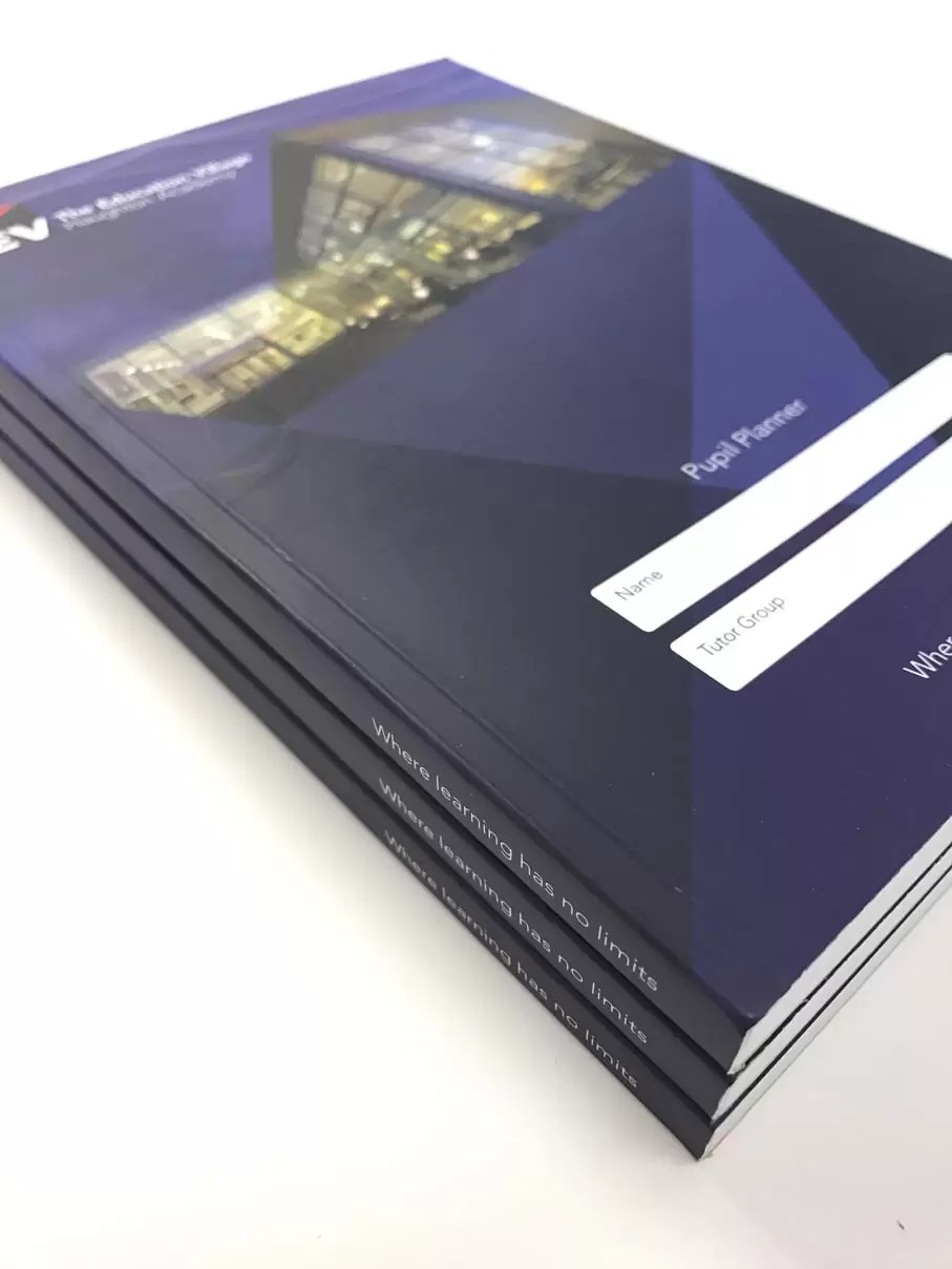 printed brochure for University