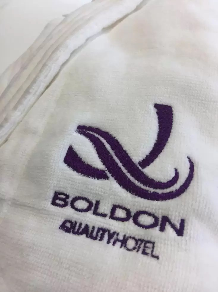Branded dressing gowns