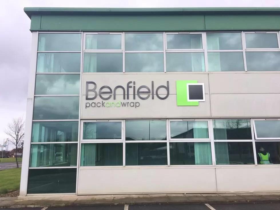 Benfield External Sign