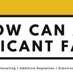 How can a lubricant fail?