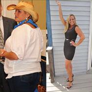 Jen lost 70 lbs