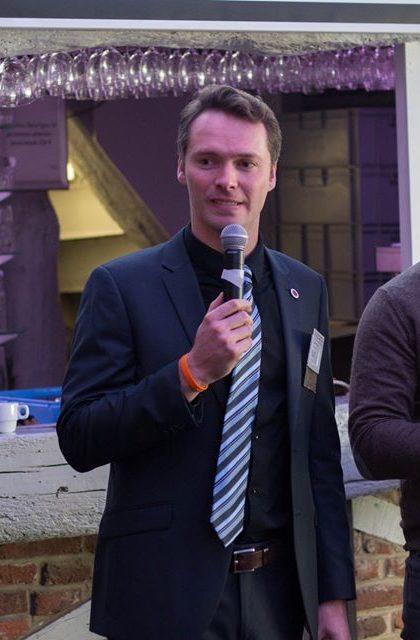 Quentin Boulet en conférence avec le BNI