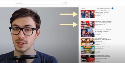 Booster ses vues sur YouTube recommandation de videos