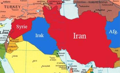 Syrie_Iran Vs Israel_US