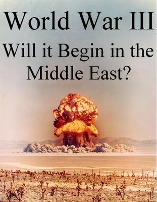 The current events in the Mideast could lead to a new World War...