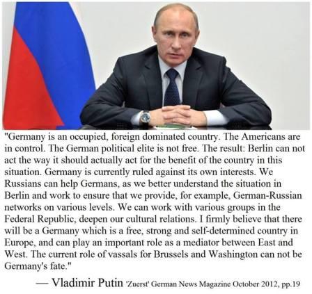 Putin on Germany