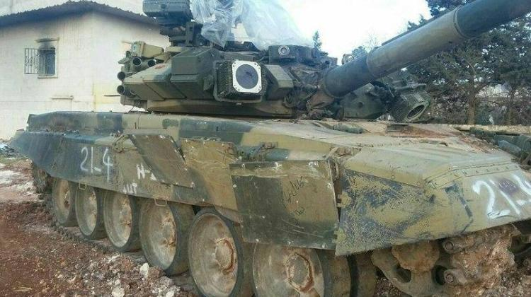 A little surprise: Syrian NDF will use T-90S against insurgents 27
