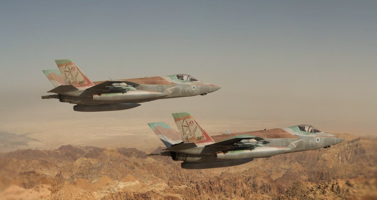 Two Israeli Military Jets hit by Syrian Air Defence Over Palmyra (Updated) 60