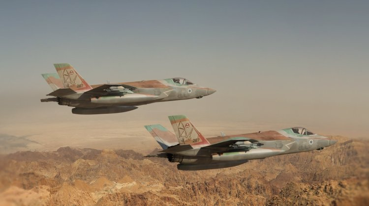 Two Israeli Military Jets hit by Syrian Air Defence Over Palmyra (Updated) 3