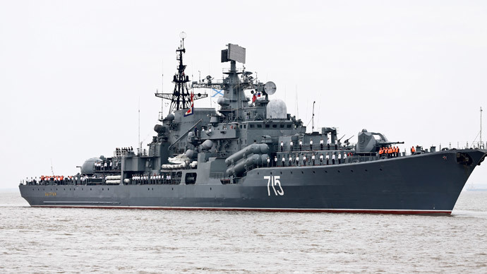Russia reinforcing military presence off Syrian coast 1