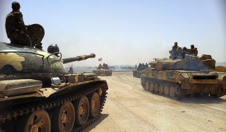 Syrian Army Launches Operation Against Idleb Enclave 1