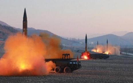 DPRK Resumes Missiles Tests (Multiple Short Range Projectiles off Eastern Coast) 26