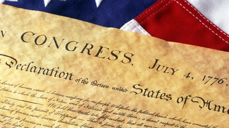 July 4, 1776, American Colonies Declare Independence 1