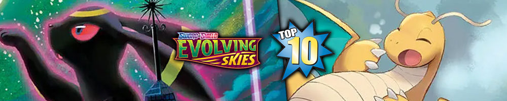 The Top 10 Pokemon Cards from Evolving Skies