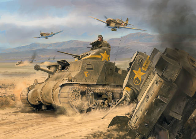 SGS Afrikakorps Tunisia - David Pentland