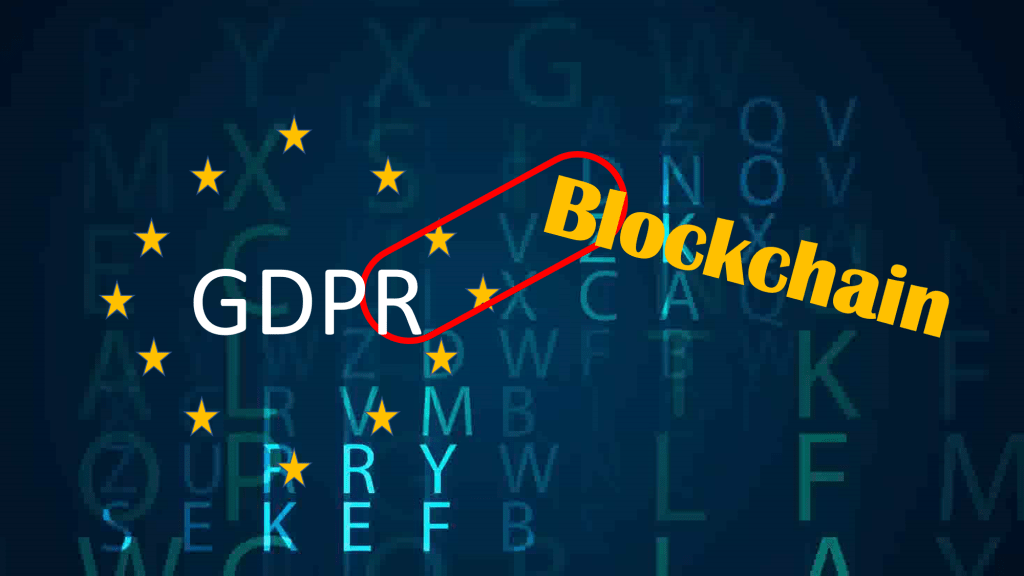 Implementing GDPR with Blockchain?