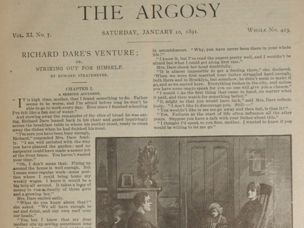 Richard Dare's Venture in Argosy