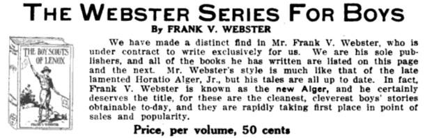 Frank V. Webster