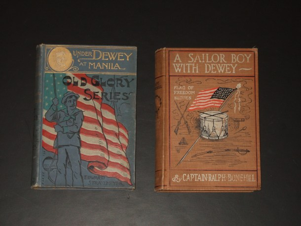Admiral Dewey books by Stratemeyer