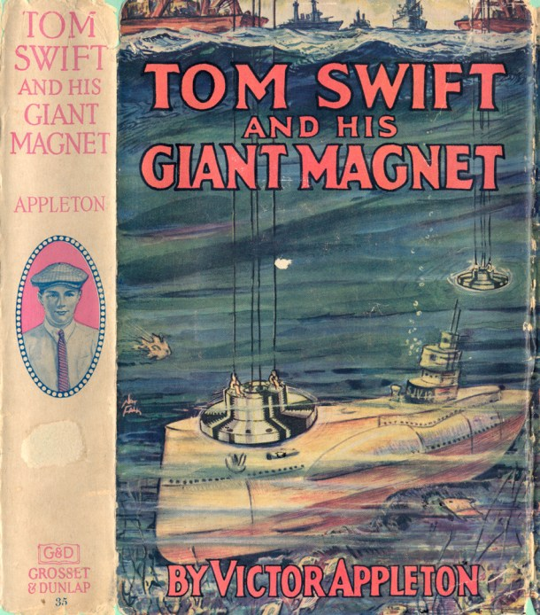 Tom Swift and His Giant Magnet DJ