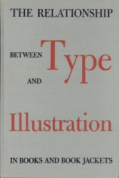 Cover of A.P. Tedesco's book, The Relationship Between Type and Illustration in Books and Book Jackets (1948).