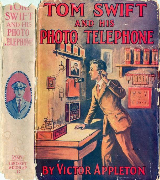 Tom Swift photo  telephone
