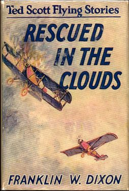 The second Ted Scott volume, Rescued in the Clouds (1927).