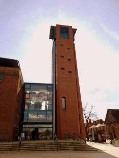 The 36-metre RSC Tower ©Stratfordblog.com