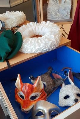 Dressing-up fun ©Stratfordblog.com