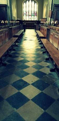 Interior of The Guild Chapel ©Stratfordblog.com
