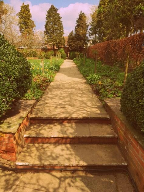 Hall's Croft gardens ©Stratfordblog.com