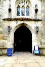 The entrance to Holy Trinity Church ©Stratfordblog.com