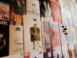 Some of the programme covers in the Shakespeare Memorial Theatre Library ©Stratfordblog.com