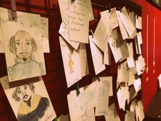 Drawings by visitors ©Stratfordblog.com