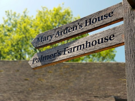 Visit Mary Arden's Farm during Stratford-upon-Avon May half-term ©Stratfordblog.com