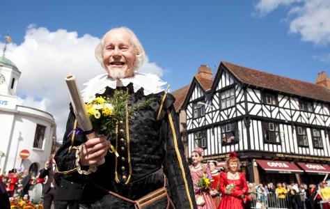Shakespeare's birthday celebrations ©Shakespeare Birthplace Trust