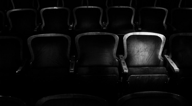 Theatre chairs to illustrate what's on in Stratford-upon-Avon this weekend on Stratfordblog