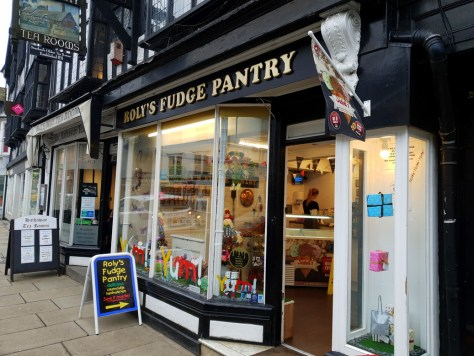 Roly's Fudge Pantry, one of the top 5 places for a sweet treat in Stratford-upon-Avon ©Stratfordblog.com